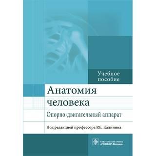Анатомия человека. Опорно-двигательный аппарат : учебное пособие под ред. Р. Е. Калинина 2017 г. (Гэотар)